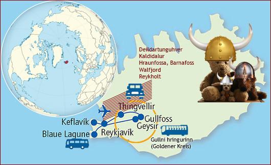Lasimirs, Cäsars und Fredis Rundreise auf Island