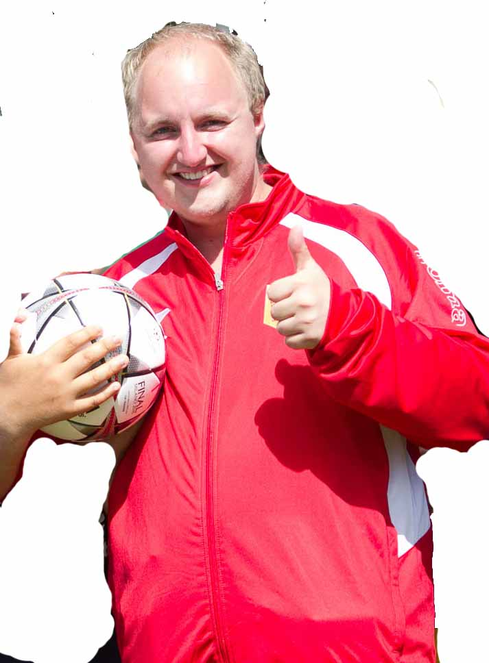 Zweiter Torspieler Jason Flemming