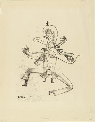 Рисунки Пауля Клее