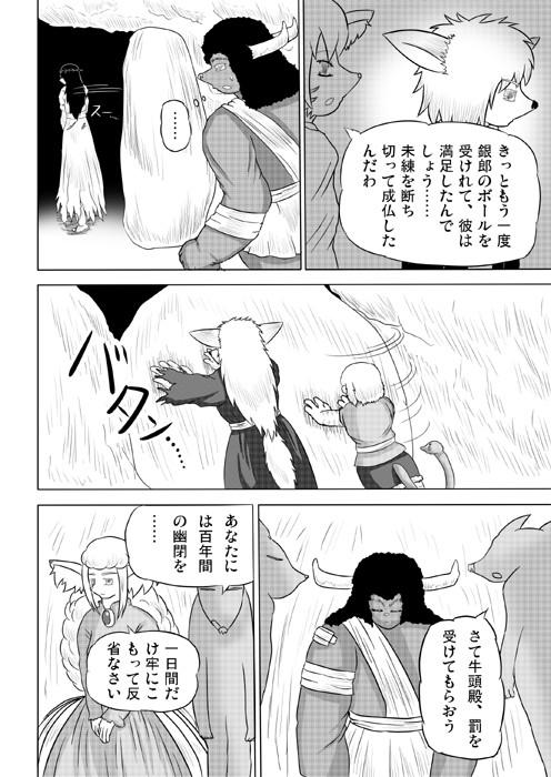 連載web漫画ケモノケ21 6p