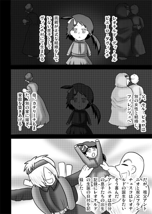 連載web漫画ダヴィンチたん2 2p