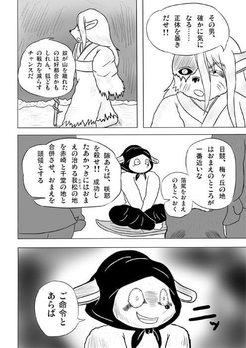 連載web漫画ケモノケ5 8p