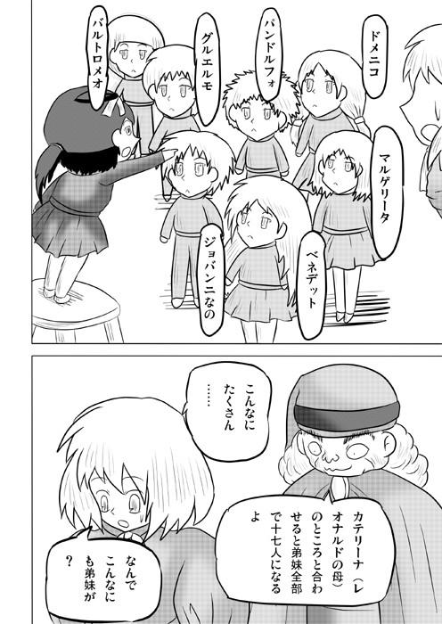 連載web漫画ダヴィンチたん2 8p