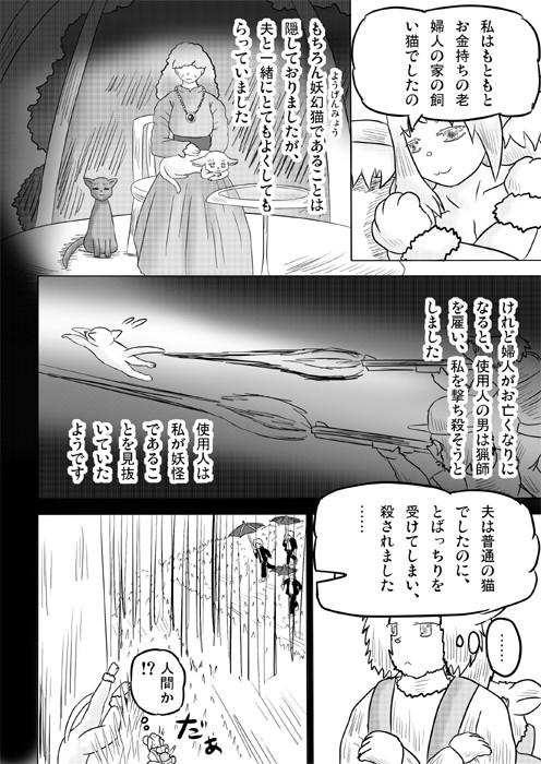 連載web漫画ケモノケ28 8p
