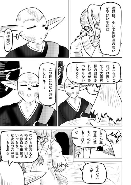 連載web漫画ケモノケ55 3p