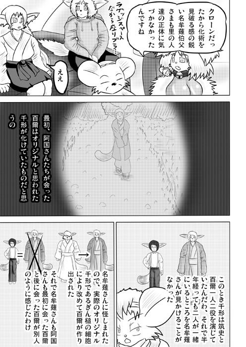 連載web漫画ケモノケ42 17p