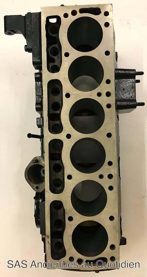 Réfection du moteur : Bloc cylindre ré-alésé et surfacé