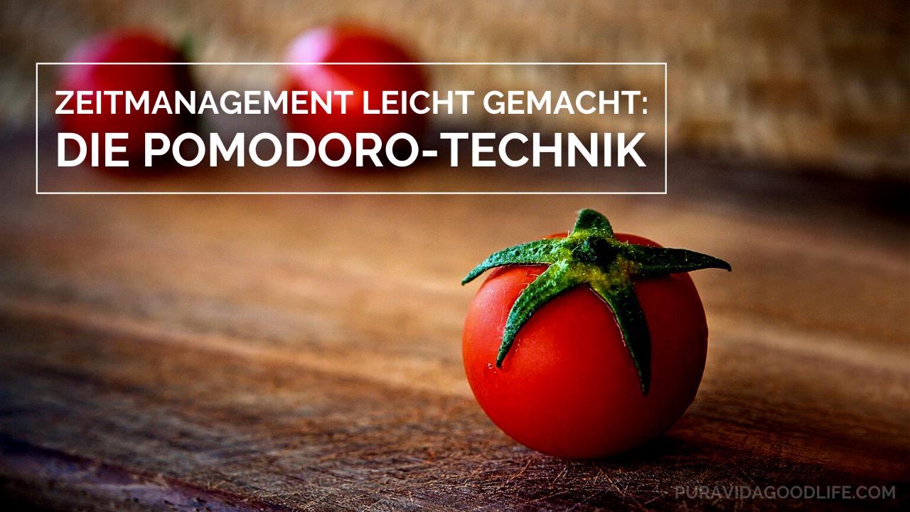 Zeitmanagement leicht gemacht: Die Pomodoro-Technik