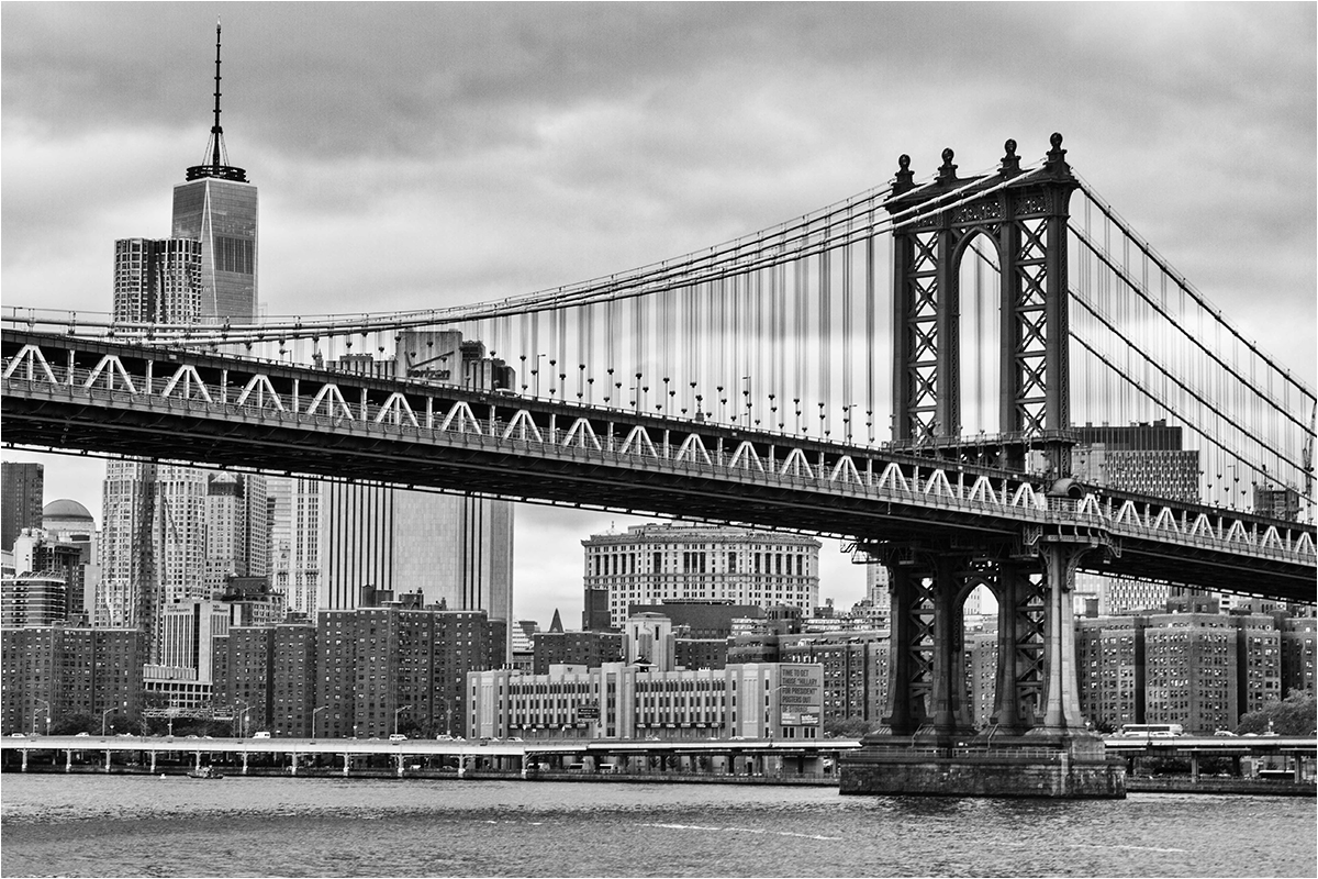"1. Platz: Anita Engel-Schober: ""New York Manhattan Bridge"""