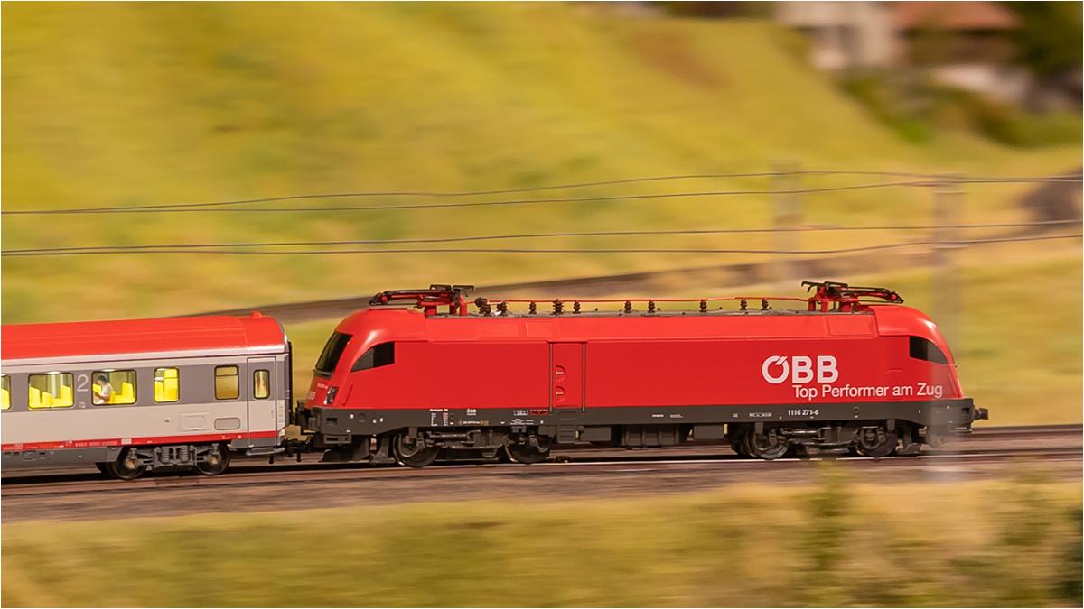 "3. Platz: Josef Reiseck: ""Modelleisenbahn"""