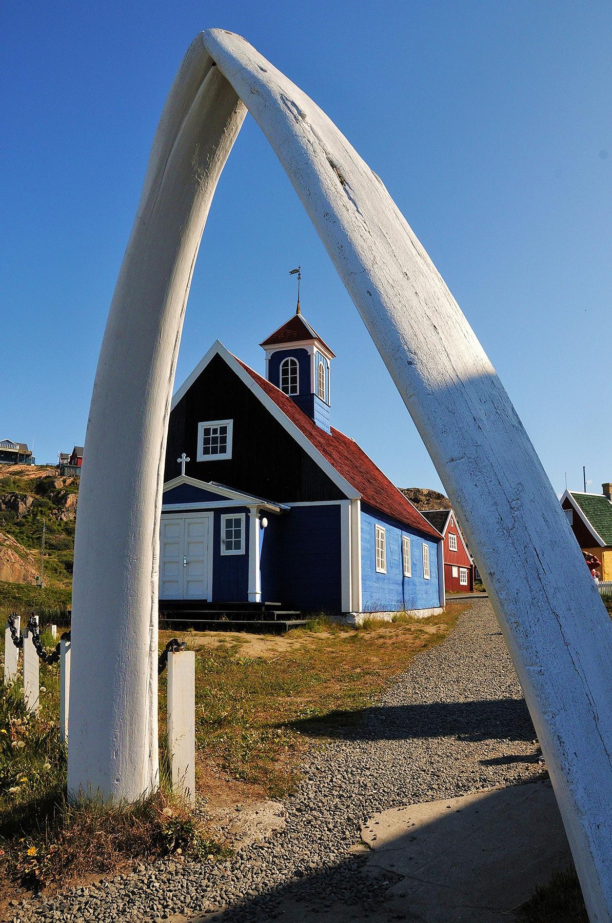 "2. Platz: Fritz Windsheimer sen. ""Kirche in Sisimiut - Grönland"""