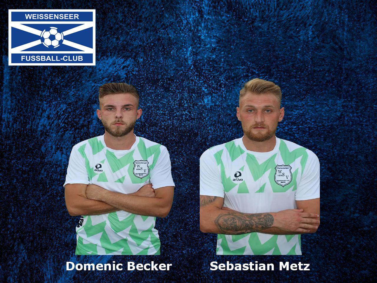Duo wechselt vom Wartenberger SV in unsere Zweite