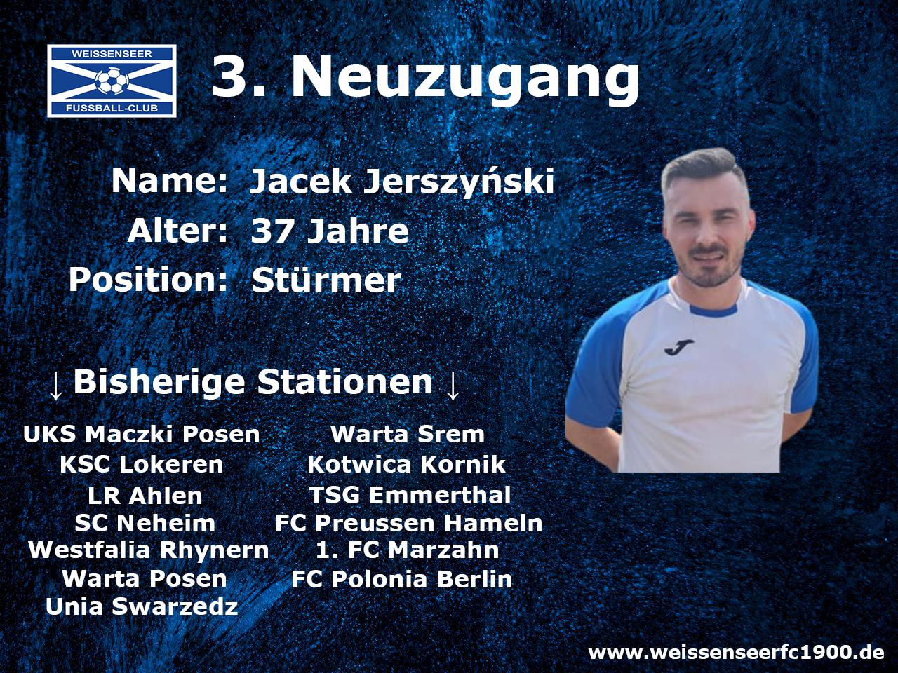 3. Neuzugang für das Landesliga-Team