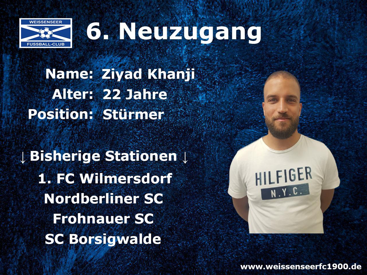 Weiterer Stürmer verstärkt Landesliga-Team