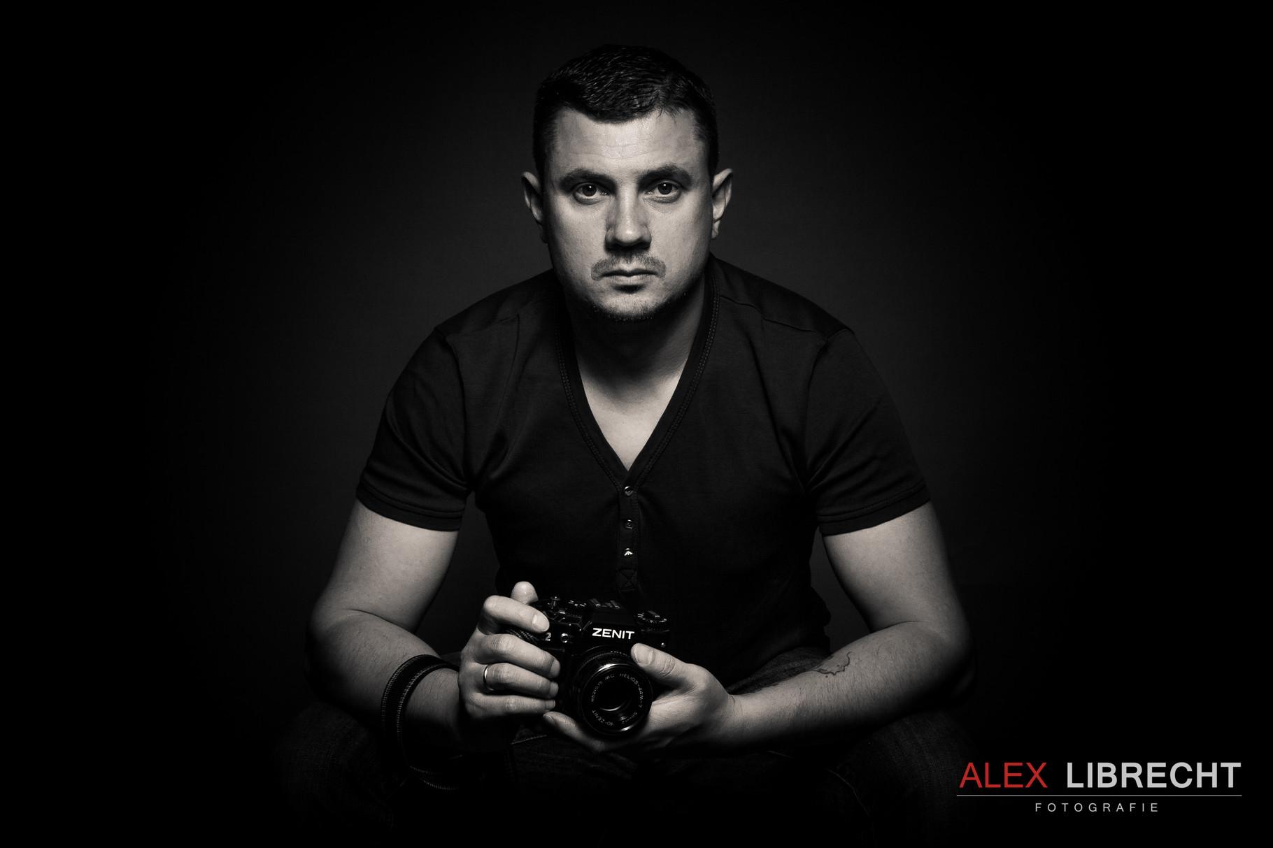 Studio portrait foto