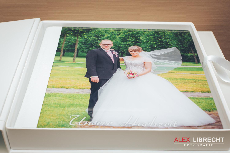 Hochzeitsfotobuch Acrylglas Lder