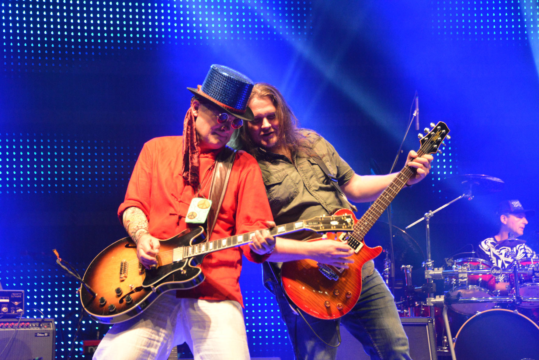 Hans - Solo & Rythmusgitarre und Andi - Solo & Rythmusgitarre