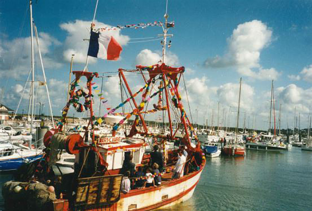 Bateau le Mary Laure/ septembre 1995 - Collection Maurice ISABELLE