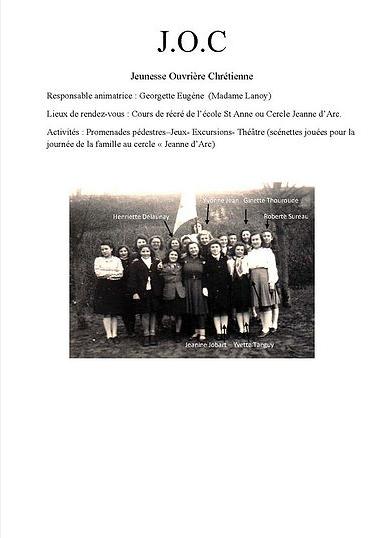 Jeunesse ouvrière chrétienne Collection JACQUES Jean
