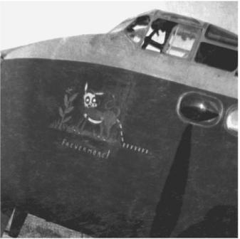 EF 268 écrasé à Dives - Coll Aitkenhead