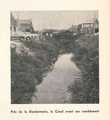Col Mairie - Le canal avant comblement