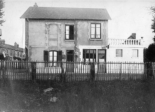 Col Lemesle - Un établissement de bain douches privé avant les années 40 - Rue des Usines
