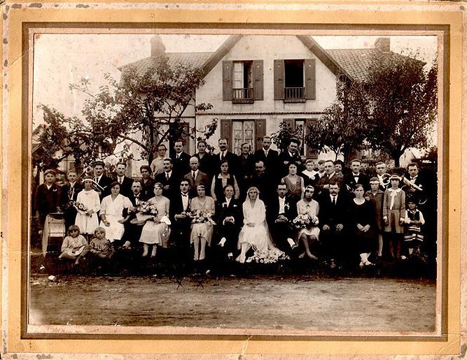Mariage polonais vers 1930