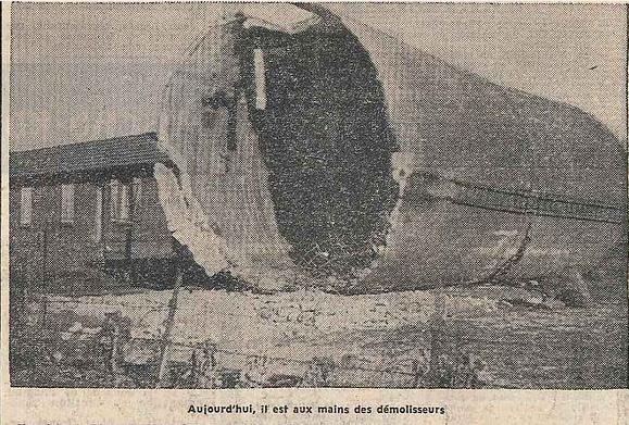 En 1963, après 50 années d'utilisation, les châteaux d'eau sont démolis