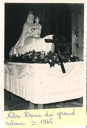 Notre Dame du grand retour - 1946 Collection BOSQUAIN
