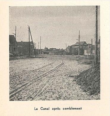 Col Mairie - Le canal après comblement