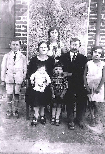 Portrait famille D'Oliveira, 1933 Collection D'OLIVEIRA Jean