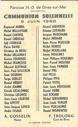 Notre Dame de Boulogne Collection LE CALLONEC