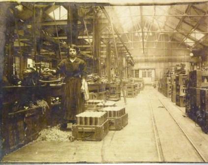 L'usine en 1917 - Coll Quetron