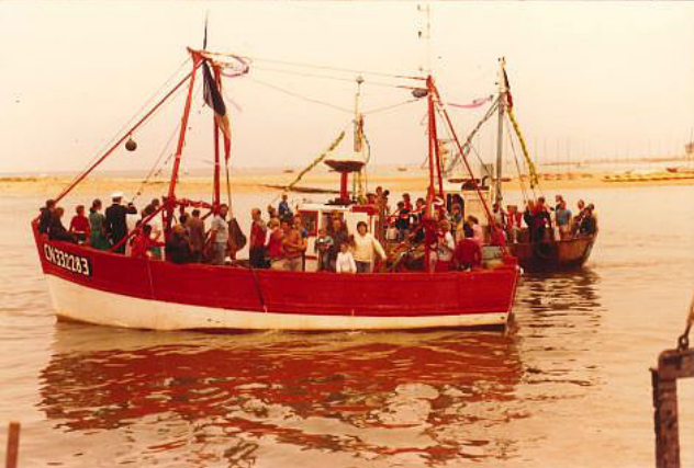 Bateau le Mary Laure/ 1991 - Collection Maurice ISABELLE