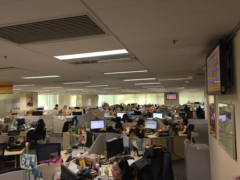 Call centre DHL in Hong Kong