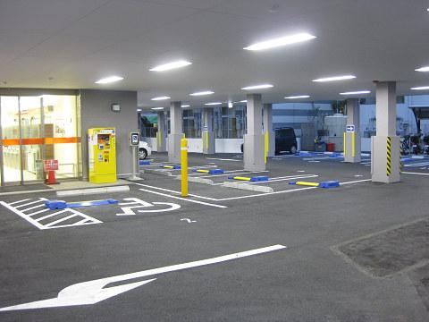 小倉のリラクゼーションマッサージ駐車場案内