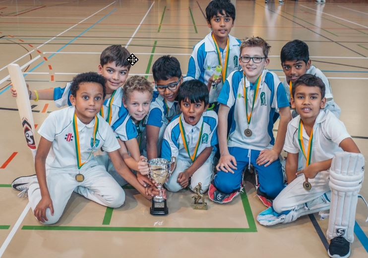 Gingins Indoor Cup U11 - ZCCC Winners