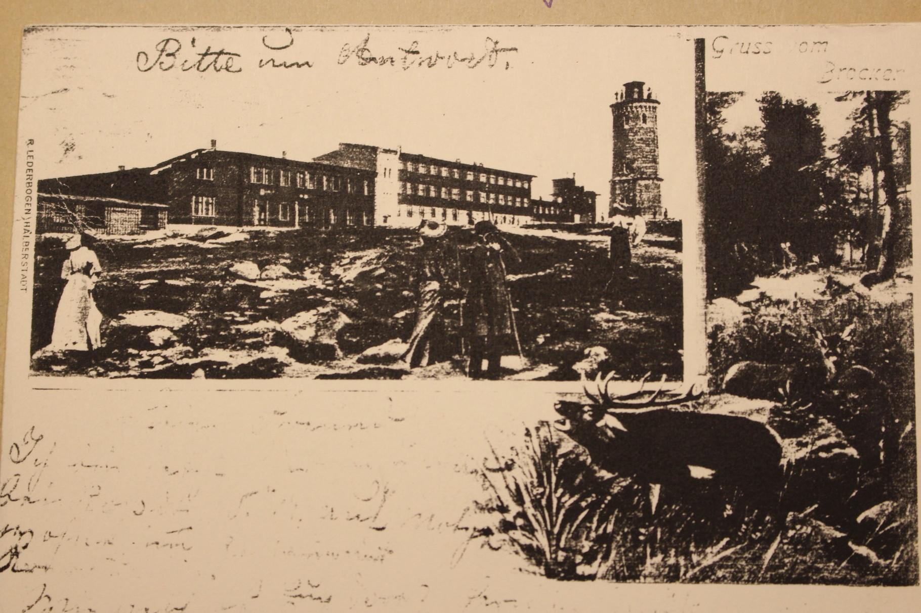 Der Brocken 1901