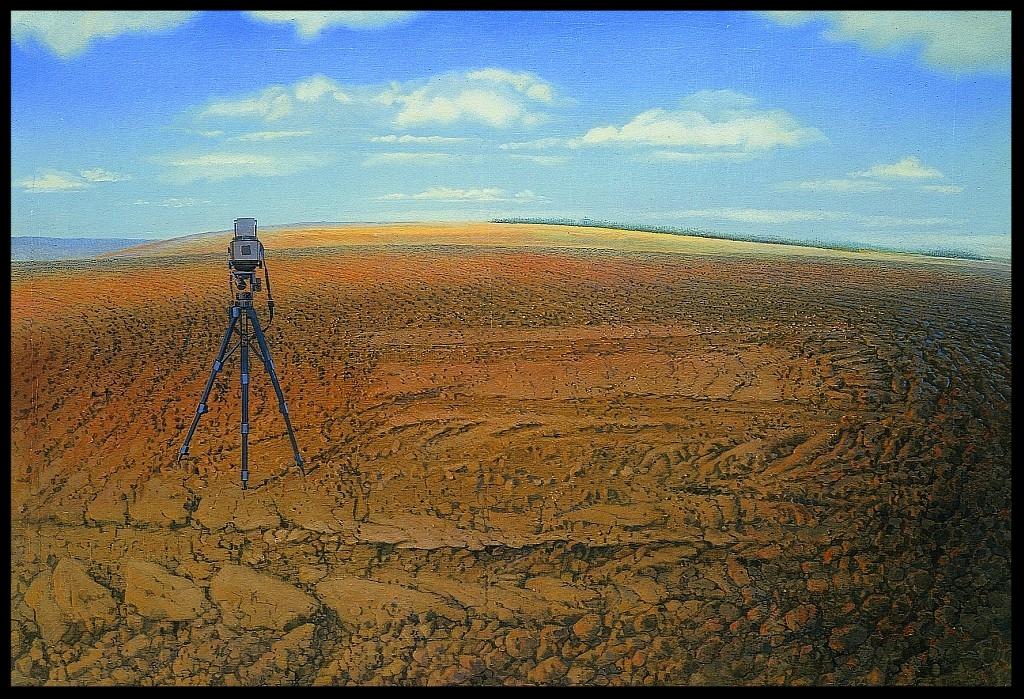 Landnahme, (Conquest),70x100cm