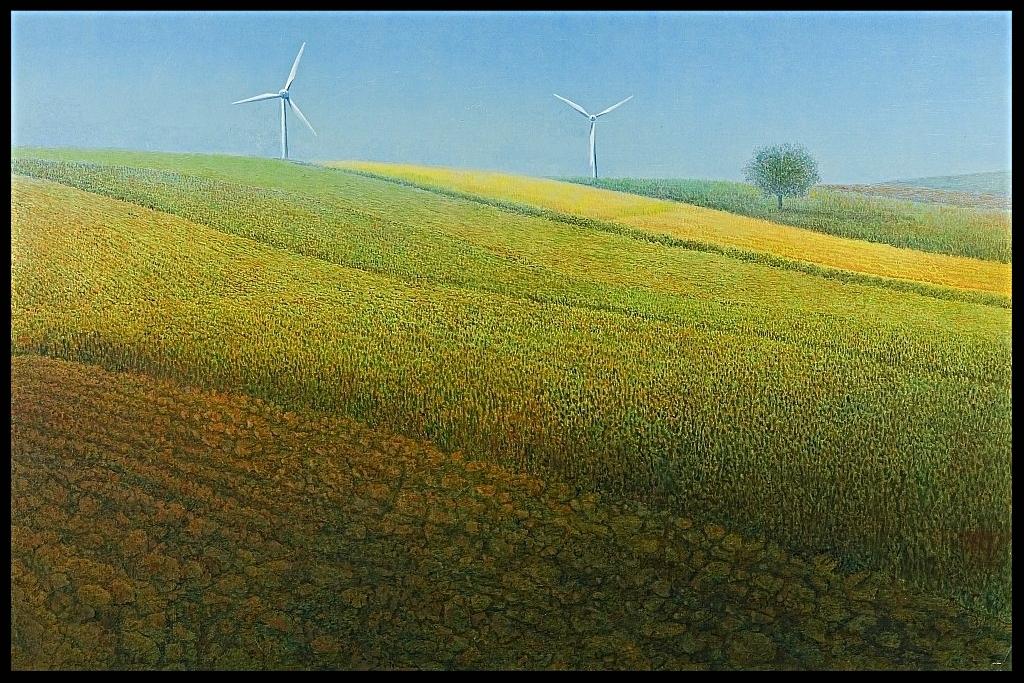 Windstille, (Windless), 70x100cm
