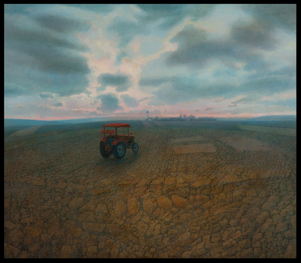 Der Traktor,(The Tractor), 70x80cm