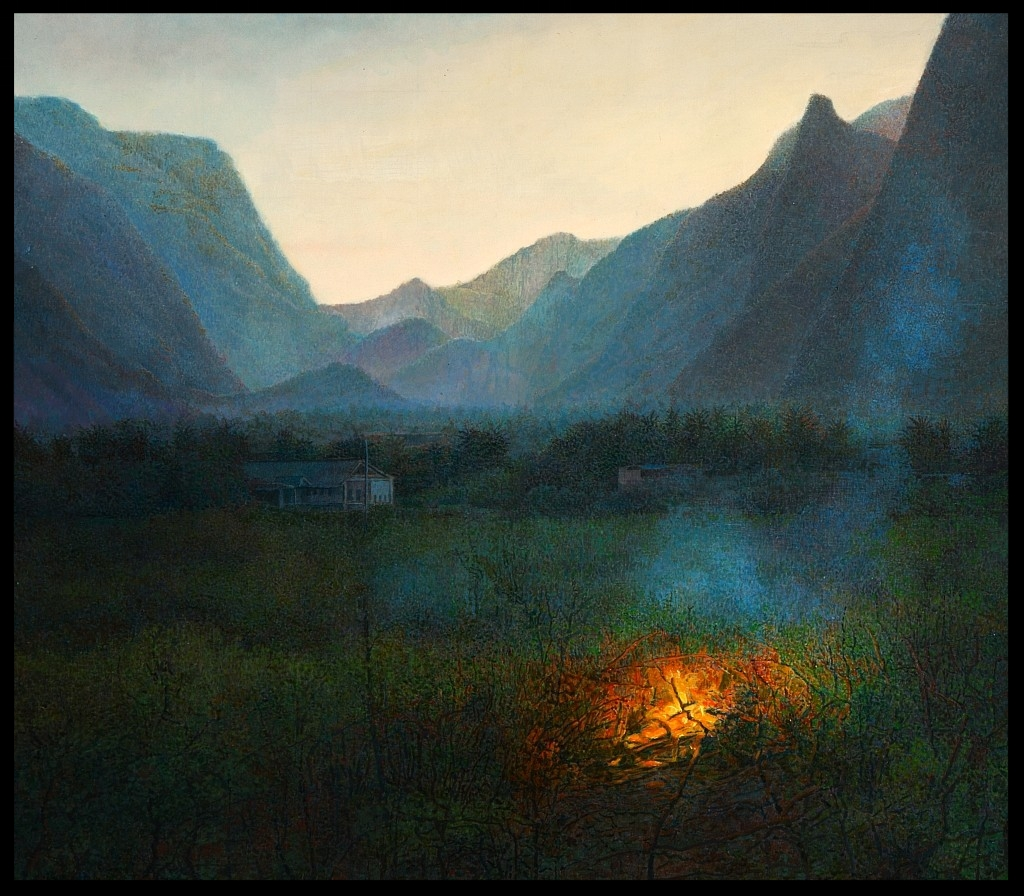 Das Tal, (The Valley)(Thailand), 70x80cm