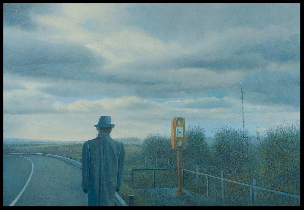 Der Geograph,(The Geographer)70x100cm
