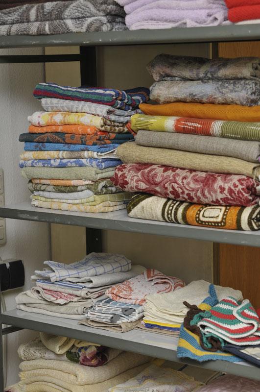 Handtücher aller Art, Tischdecken, etc.