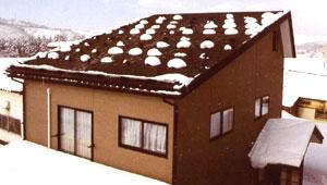 ソーラー融雪システム使用イメージ