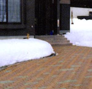 駐車状融雪システム設置事例