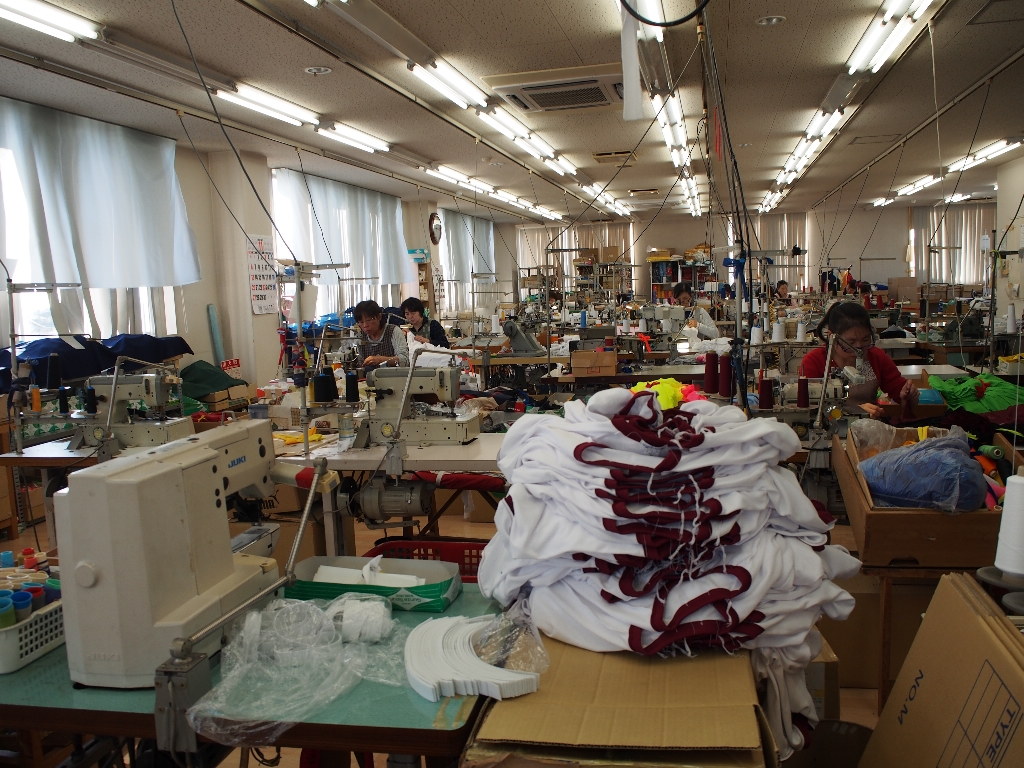 縫製の現場