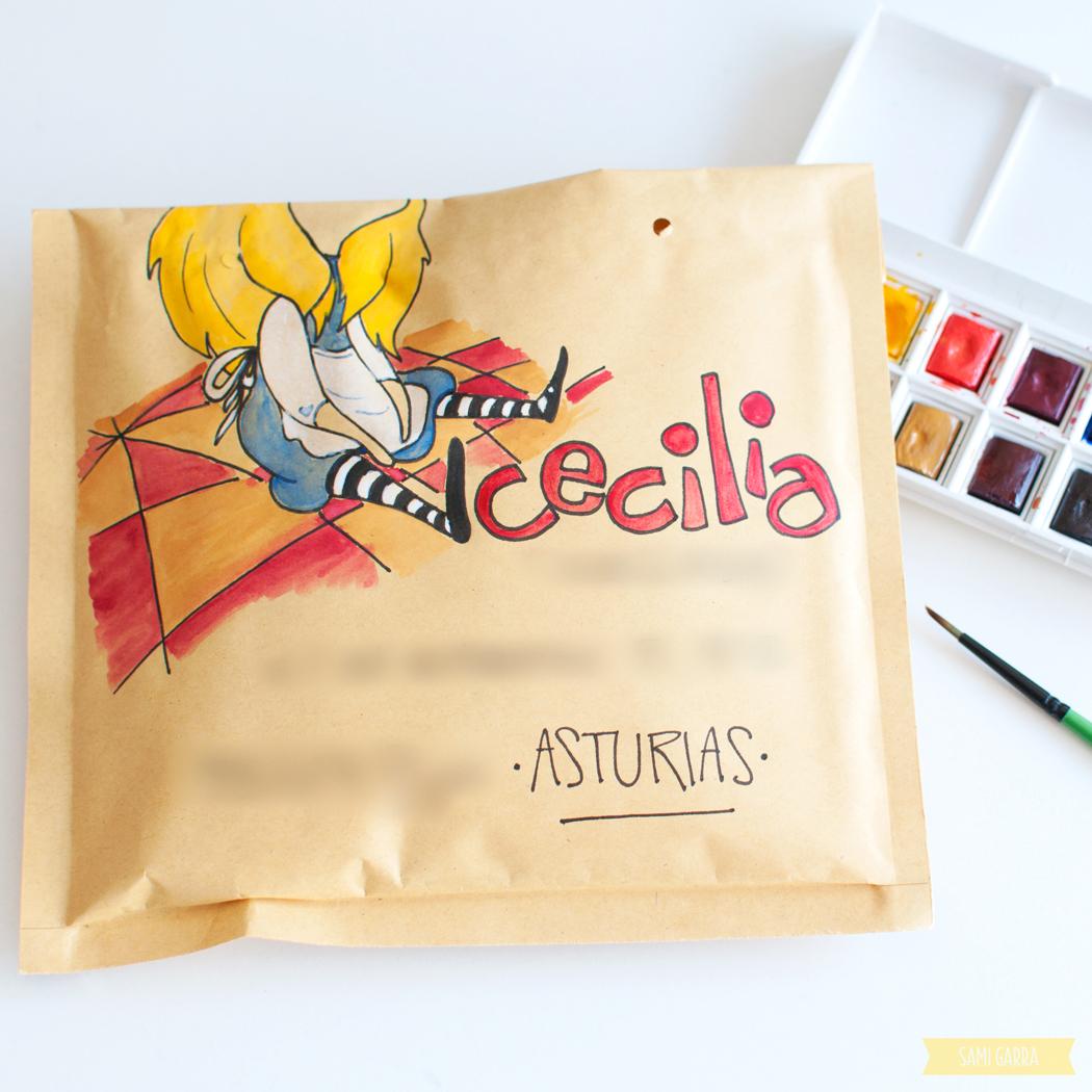 snail mail de Alicia