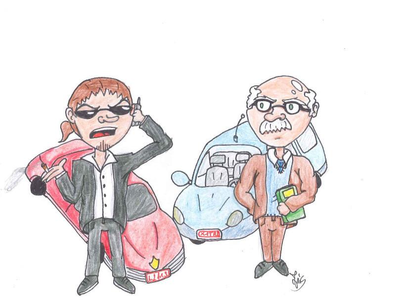 Hängt die Automarke vom Beruf ab?