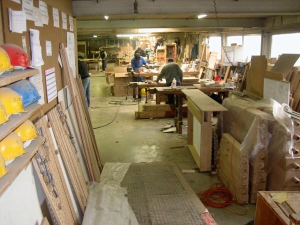 Die Dimensionen der Werkstatt